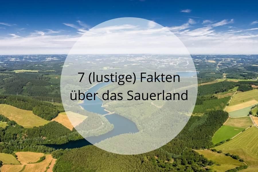 7 Fakten Sauerland